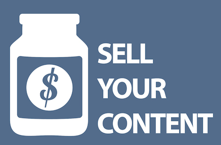 Sell your content